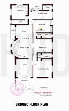 Grundriss Ebenerdiges Haus - beautiful contemporary home plan home kerala plans