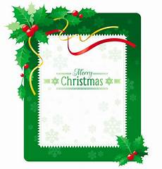 green merry christmas greeting card with holly berry vector premium download