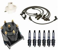 91 gmc sonoma ignition wiring diagram acdelco ignition kit distributor rotor cap wire spark plugs for gmc sonoma v6 ebay