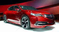 new 2015 acura tlx prototype mid size sedan in detail w video carscoops