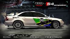 need for speed most wanted 2002 audi s4 competition nfscars