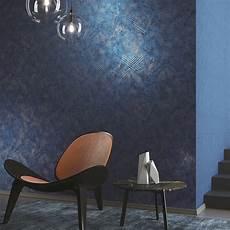 blaue tapeten raffinierte grafische tapete von khr 244 ma promenade