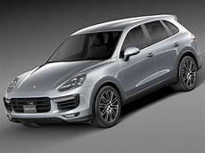 Porsche Cayenne Neues Modell - porsche cayenne turbo 2015 3d model max obj 3ds fbx