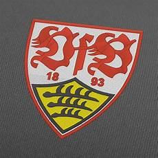 Ausmalbild Vfb Logo Stickmuster Logo Vfb Stuttgart Fc