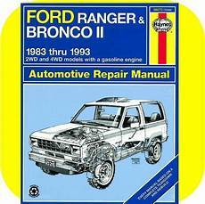 free car manuals to download 1985 ford ranger spare parts catalogs repair manual book ford ranger pickup truck bronco ii ebay