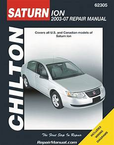 where to buy car manuals 2003 saturn ion spare parts catalogs 2003 2007 chilton saturn ion automotive repair manual