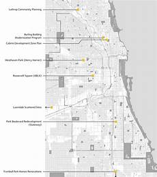 chicago housing authority plan for transformation cha project locations urbanworks