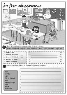 in the classroom there is there are worksheet free esl printable worksheets made by teachers