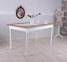 Esszimmer Tisch Shabby Chic Esstisch Weiss K 220 Chentisch
