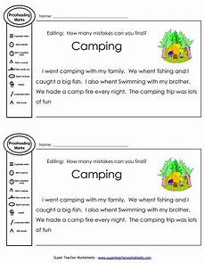 printable editing worksheets grammar spelling punctuation capitalization