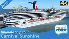 carnival sunshine ultimate cruise ship tour 2019 youtube