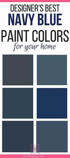 best navy paint colors designers share 6 failproof paint colors