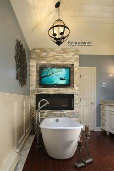 bathroom tv ideas image result for freestanding tub with fireplace master bathrooms master bathroom tub