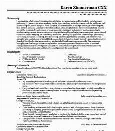 quality control technician resume sle livecareer