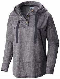 columbia s summer time hemp cotton pullover hooded anorak light jacket