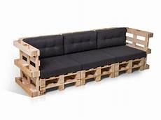 Paletti 3 Sitzer Sofa Aus Paletten Natur