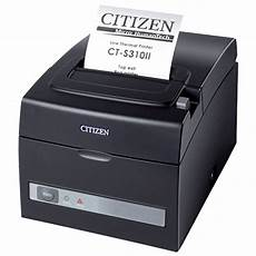citizen ct s310 ii thermal receipt printer black
