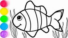 Pelajari Menggambar Dan Mewarnai Ikan Untuk Anak Anak