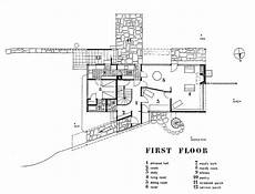gropius house 1st floor modern floor plan must know