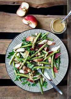 bohnen salat mit pfirsich ger 246 steten haseln 252 ssen und