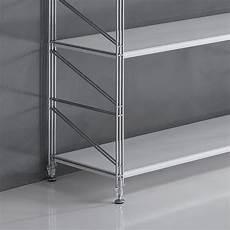 scaffali cromati componibili scaffale componibile socrate 21 in metallo per ufficio 293