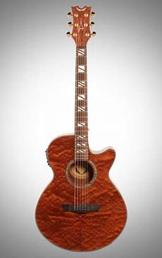Dean Performer Quilted Mahogany Acoustic Electric Guitar