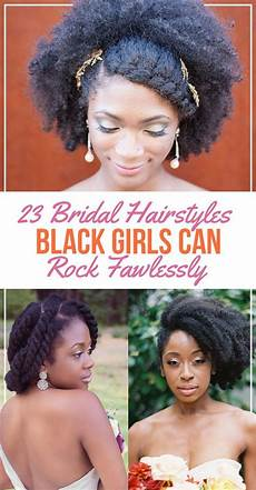 23 bridal hairstyles that look great on black women natural hair wedding natural hair styles