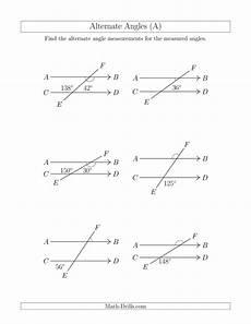 geometry angle worksheets pdf 617 alternate angles a