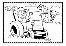 Malvorlagen Bauernhof Traktor Ausmalbilder Traktor 6 Ausmalbilder Und Basteln Mit