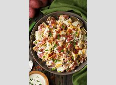 creamy garlic red potato salad_image