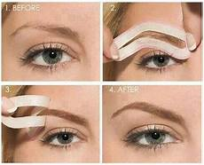 perfekte augenbrauen schablone eyebrows archives home and diy