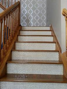 Geflieste Treppe Renovieren - tiled stairs they re mine for the home tile