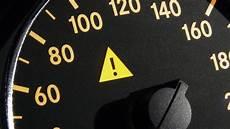 Dreieck Auf Dem Tacho Auto Elektronik Anzeige
