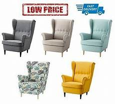 ikea sessel strandmon ikea strandmon wing chair in 5 colours ebay
