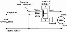 1 way dimmer switch wiring diagram new dimmer switch has aluminum ground can i attach to copper ground removeandreplace