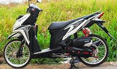 Modifikasi Vario Techno 125 by Modifikasi Honda Vario Techno 125 Velg Jari Jari Terbaru