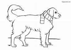 Ausmalbilder Hunde Golden Retriever Ausmalbild Hund Kostenlos 187 Malvorlage Hunde
