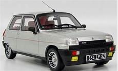 Otto Mobile Scale 1 18 Renault 5 Alpine Turbo Grey