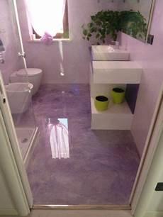 bagni in resina foto bagno in resina lilla vetrificato clever house brescia