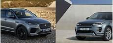 jaguar e pace vs land rover evoque jaguar e pace vs range rover evoque carwitter