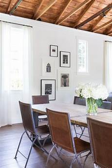 benjamin acadia white dining room transitional with wooden wall mirrors white
