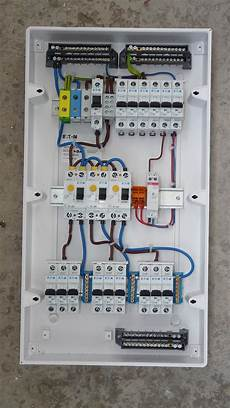 electrical consumer unit wiring diagram elektrisch