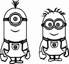 minion coloring pages free on clipartmag