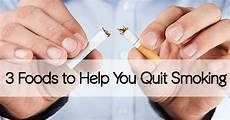 3 foods to help you quit smoking