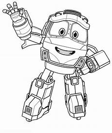 ausmalbilder robot 08 ausmalbilder gratis
