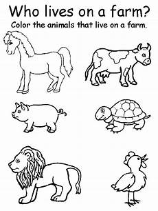 animal recognition worksheets 14025 preschool printable farm worksheets animal matching worksheets learningenglish esl hojas