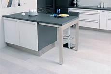 table rétractable cuisine cuisine table encastr 233 e quand la table de cuisine