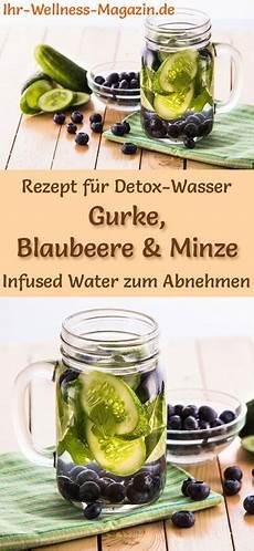 gurken blaubeer minze wasser rezept f 252 r infused water