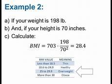 Calculate Mass Index Bmi