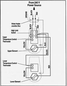 electric water heater thermostat wiring diagram sle wiring diagram sle